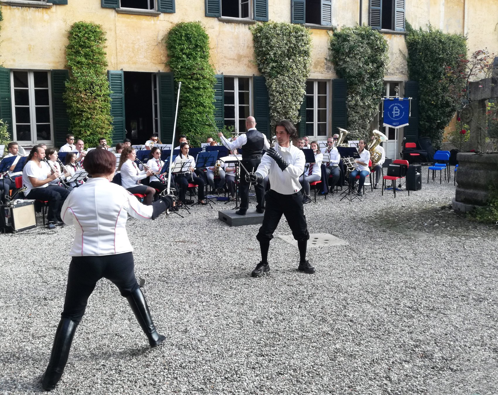 23 set 17 - Aperitivo & Musica in Villa Reina - Ars Gladii 01