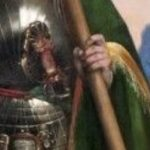 Madonna col Bambino con San Giorgio e L'arcangelo Michele - Ars gladii 01
