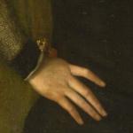 Ritratto di un uomo con guanto di sfida - Ars gladii 03